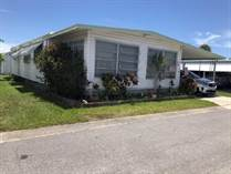 Homes for Sale in Bay Ranch Mobile Home Park, Largo, Florida $15,900