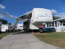 Homes for Sale in FOREST LAKE RV ESTATE, Zephyrhills, Florida $17,300