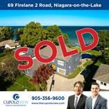 Homes Sold in Lakeshore Road, Niagara-on-the-Lake, Ontario $1,295,000