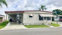 Homes for Sale in Bay Ranch Mobile Home Park, Largo, Florida $35,900