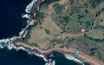 Punta Coyote: South Tip of Nicoya Peninsula Titled Beachfront, 2 Miles of Shoreline and Large River
