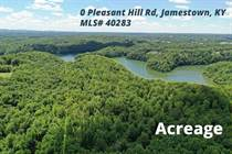 Lots and Land for Sale in Lake Cumberland, Jamestown, Kentucky $325,000