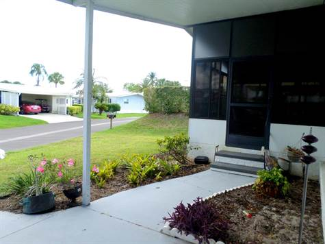 Home Sold in Camelot Lakes MHC, Sarasota, Florida $15,000