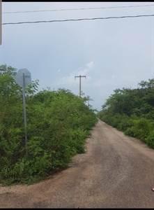 "Temozon, Yucatan presents ""TEMOZON NORTE LOT""  2 Blocks before  Villareal Private"