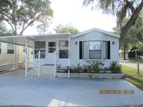 Homes for Sale in SOUTHERN CHARM, Zephyrhills, Florida $19,900