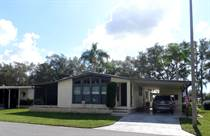 Homes for Sale in Camelot Lakes MHC, Sarasota, Florida $37,500