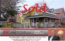 Homes Sold in West Side, Owen Sound, Ontario $395,000
