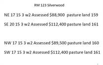 Farms and Acreages for Sale in Saskatchewan, Silverwood Rm No. 123, Saskatchewan $370,000