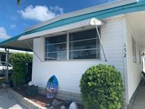 Homes for Sale in Honeymoon MHP, Dunedin, Florida $48,900