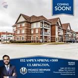 Condos for Sale in Aspen Springs/Highway 57, Clarington, Ontario $369,900