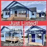 Homes for Sale in Ocean Shores, Washington $224,900