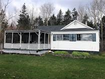 Homes for Sale in Malagash Point, Nova Scotia $168,000
