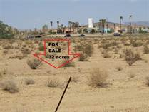 Lots and Land for Sale in California, Newberry Springs, California $195,000