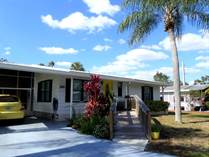 Homes for Sale in Camelot Lakes MHC, Sarasota, Florida $43,000