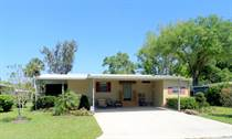 Homes for Sale in Camelot Lakes MHC, Sarasota, Florida $35,900