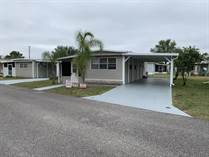 Homes for Sale in Sunnyside Mobile Home Park, Zephyrhills, Florida $14,000