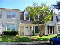 Homes for Sale in Princeton Square, Bowie, Maryland $259,900