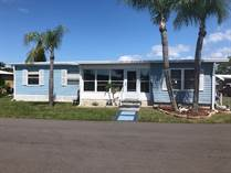 Homes for Sale in Colony Cove, New Port Richey, Florida $36,900