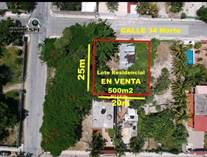 Lots and Land for Sale in Playa del Carmen, Quintana Roo $1,900,000