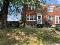 Homes for Sale in Cedonia, Baltimore, Maryland $124,000