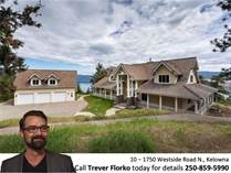 Homes for Sale in Fintry, Kelowna, British Columbia $1,595,000