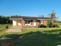 Homes for Sale in Hemingway, South Carolina $59,900
