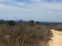 Lots and Land for Sale in Elias Calles, Baja California Sur $85,000
