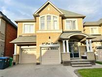 Homes for Sale in Brampton, Ontario $1,289,000