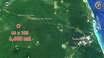 Lots and Land for Sale in Francisco Uh May, Tulum, Quintana Roo $1,500,000