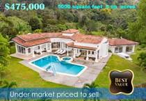 Homes for Sale in Atenas, Alajuela $475,000