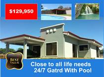 Homes for Sale in Grecia, Alajuela $129,950