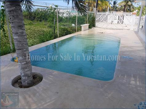 Home for Rent/Lease in Chuburna, Yucatan $1,200 monthly