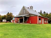 Farms and Acreages for Sale in Hunter River, Prince Edward Island $469,900