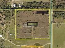 Lots and Land for Sale in North Fort Myers, Florida $299,901