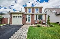 Homes Sold in Finley/Westney, Ajax, Ontario $675,000