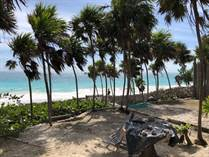 Lots and Land for Sale in Hotel Zone, Tulum, Quintana Roo $1,990,000