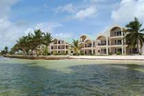 Condos for Sale in Tres Cocos, Ambergris Caye, Belize $350,000