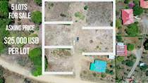 Lots and Land for Sale in Ojochal, Puntarenas $25,000