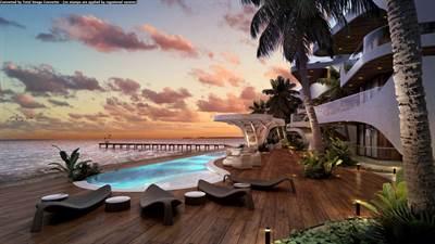 Stunning Beachfront Studio For Sale in Tankah Bay, Tulum, QR, MX