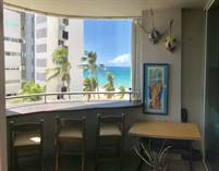 Condos for Rent/Lease in Kings Court Playa, San Juan, Puerto Rico $4,600 monthly