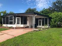 Homes for Sale in Colony Cove, Ellenton, Florida $12,500
