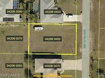 Lots and Land for Sale in Cape Coral, Florida $18,500