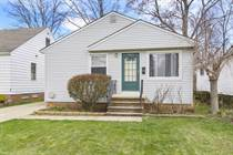 Homes for Sale in Cuyahoga County, Mayfield Heights, Ohio $168,000