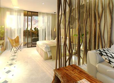 Studio PH w/Private Pool For Sale in Downtown Tulum, QR, MX