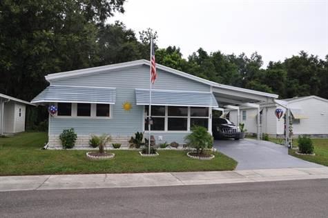 Home Sold in Forest Lake Estates, Zephyrhills, Florida $48,900