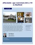 Condos for Sale in Medfield, Medway, Massachusetts $139,638