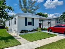 Homes for Sale in Paradise Village, Davie, Florida $35,000