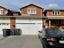 Homes for Sale in McLaughlin/Ray Lawson, Brampton, Ontario $949,000