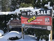 Commercial Real Estate Sold in Harrison Hot Springs, British Columbia $1,749,000