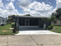 Homes for Sale in The Meadows, Plant City, Florida $25,900